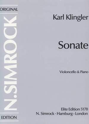 Klingler, K: Sonata in A Minor