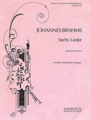 Brahms, J: Six Songs
