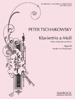 Tchaikovsky: Piano Trio (rev) op. 50