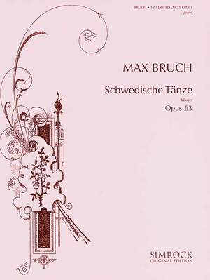 Bruch, M: Swedish Dances op. 63 Product Image