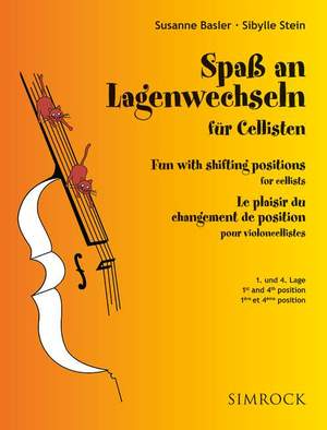 Fun with changes of positions of cellists Band 1