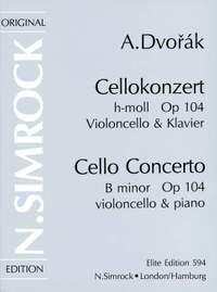 Dvorák: Cello Concerto in B Minor, Op. 104