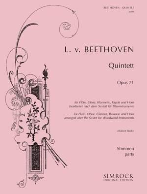 Beethoven, L v: Wind Quintet in E Flat op. 71
