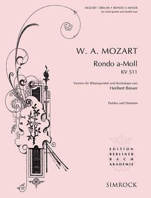 Mozart, W A: Rondo A Minor KV 511