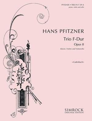 Pfitzner, H: Klaviertrio op. 8