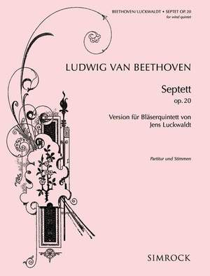 Beethoven, L v: Septet Eb major op. 20