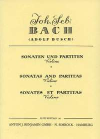 Bach, J S: Sonatas and Partitas