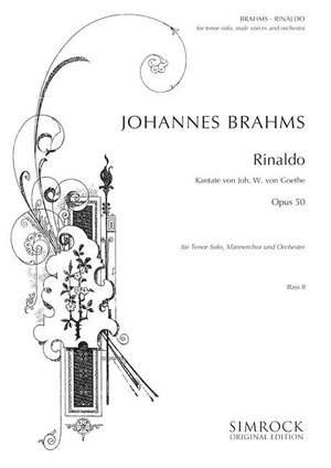 Brahms, J: Rinaldo op. 50