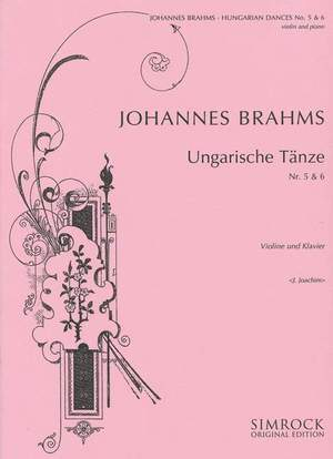 Brahms, J: Hungarian Dances 5 & 6