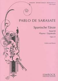 Pablo de Sarasate: Spanish Dances, Op. 23, Book 3