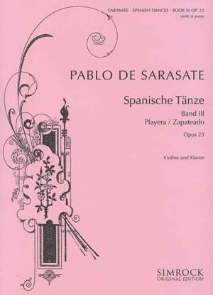 Sarasate: Spanish Dances op. 23 Band 3