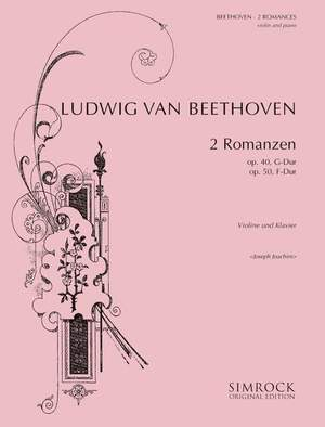 Beethoven, L v: Two Romances op. 40, op. 50