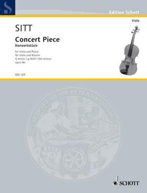 Sitt, H: Concert Piece G Minor op. 46