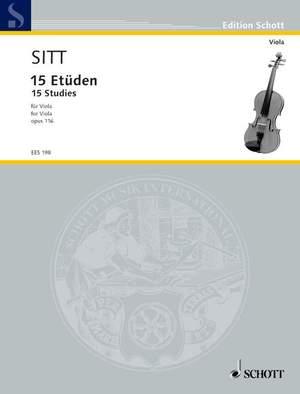 Sitt, H: 15 Etudes op. 116