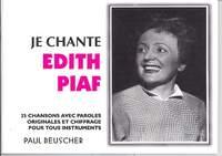 Gassion, É G: Je Chante Edith Piaf