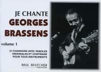 Brassens, G: Je Chante Georges Brassens 1