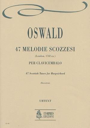 Oswald, J: 47 Scottish Tunes (London c.1742)
