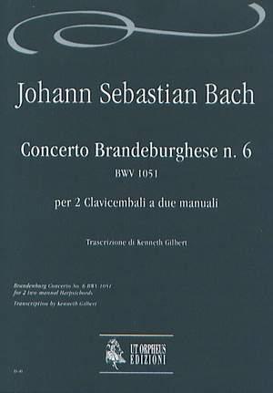 Bach, J S: Brandenburg Concerto No.6  BWV 1051