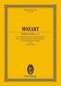 Mozart, W A: Serenade a 13 No. 10 B flat major KV 361