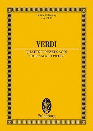 Verdi: Four Sacred Pieces