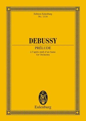 Debussy, C: Prélude à 'après-midi d'un faune