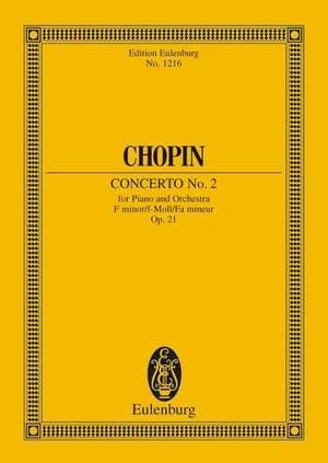Chopin, F: Concerto No. 2 F minor op. 21