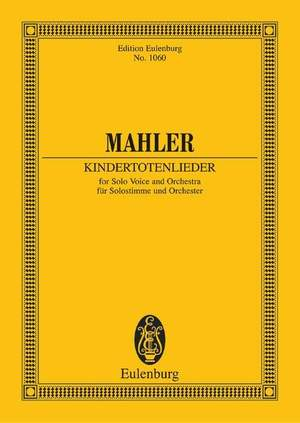 Mahler, G: Kindertotenlieder