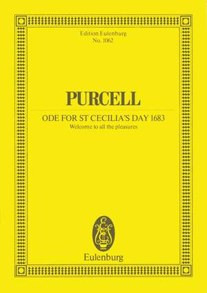 Purcell, H: Ode for St. Cecilia's Day 1683