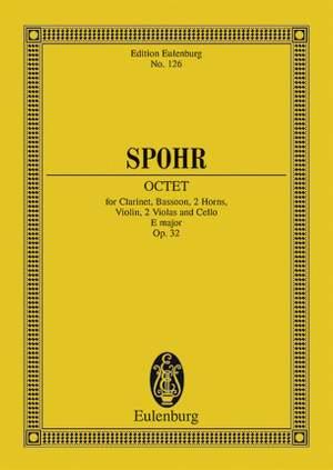 Spohr, L: Octet E major op. 32