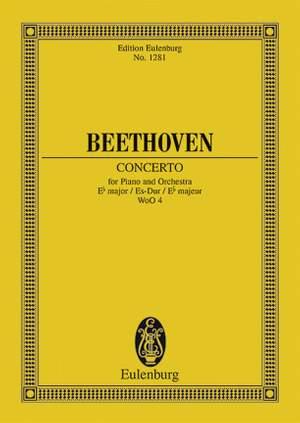 Beethoven, L v: Piano Concerto Eb major WoO 4