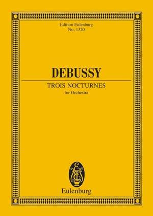 Debussy, C: 3 Nocturnes Product Image