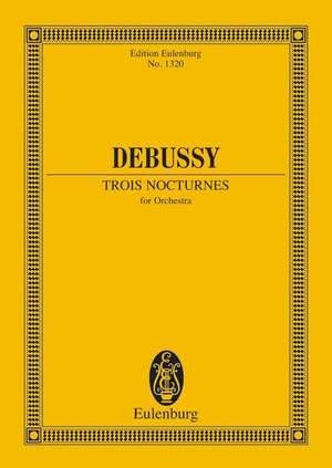 Debussy, C: 3 Nocturnes