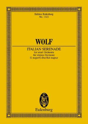 Wolf: Italian Serenade G major