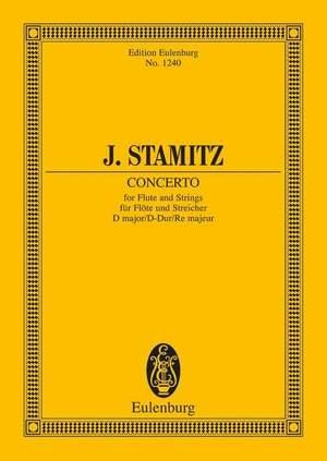 Stamitz, J W A: Concerto D major