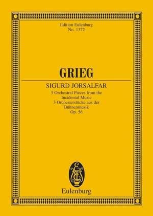 Grieg, E: Sigurd Jorsalfar op. 56