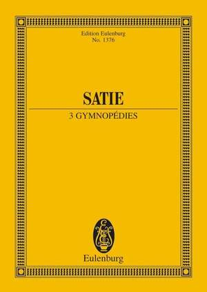 Satie, E: 3 Gymnopédies