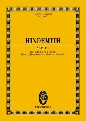 Hindemith, P: Septet