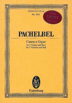 Pachelbel, J: Canon e Gigue