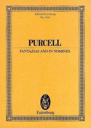 Purcell, H: Fantazias and In Nomines