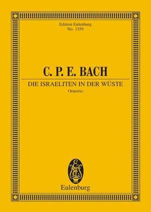 Bach, C P E: Die Israeliten in der Wüste H 775