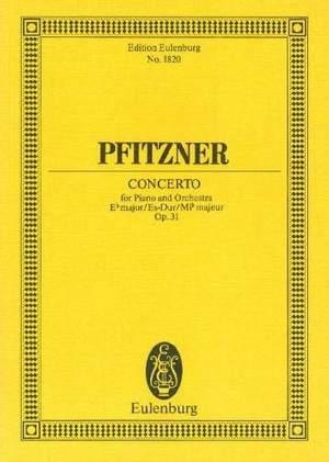 Pfitzner, H: Piano Concerto Eb major op. 31