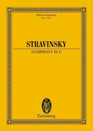 Stravinsky, I: Symphony in C Product Image