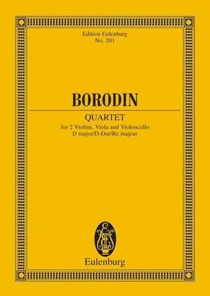 Borodin, A: String Quartet No. 2 D major