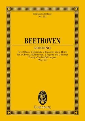 Beethoven, L v: Rondino Eb major op. posth. WoO 25