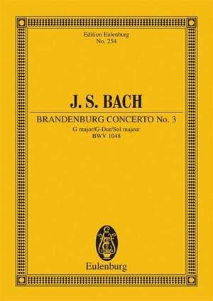 Bach, J S: Brandenburg Concerto No. 3 G major BWV 1048