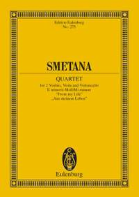Smetana: String Quartet E minor