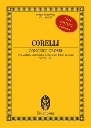 Corelli, A: Concerti grossi op. 6/1-12