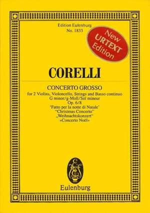 Corelli, A: Concerto grosso G minor op. 6/8