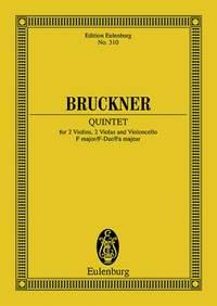 Bruckner, A: String Quintet F major