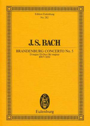 Bach, J S: Brandenburg Concerto No. 5 D major BWV 1050
